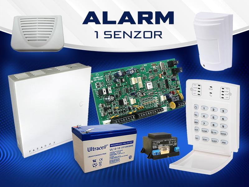Alarm 1 senzor